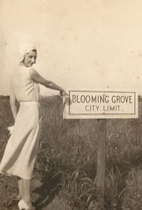 Flapper Girl Welcomes You to Bloooming Grove